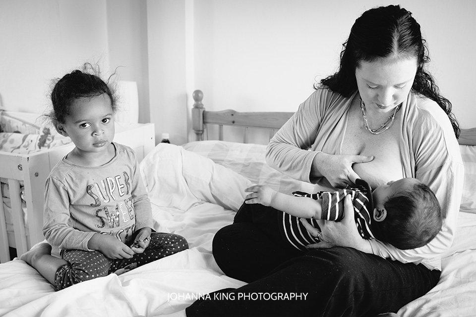 home breastfeeding photo session dublin