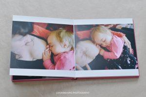 Breastfeeding and Babywearing Photo Session Album