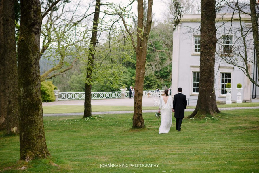 L J Wedding at Clonwilliam House Co. Wicklow