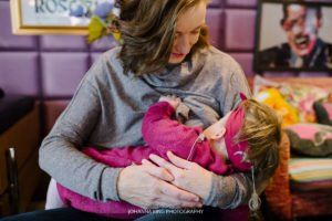 Breastfeeding and Down Syndrome Babies Photo Session Dublin Ireland