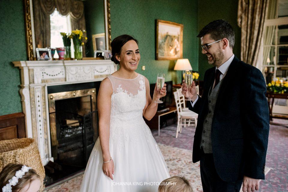 Intimate Irish Family Elopement Wedding - K Club